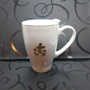 Mickey Mouse Gold Inlay Logo Cup